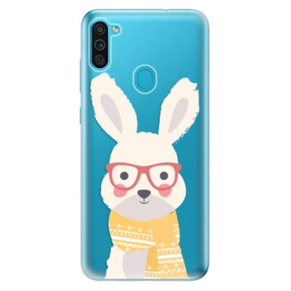 Odolné silikonové pouzdro iSaprio - Smart Rabbit - Samsung Galaxy M11