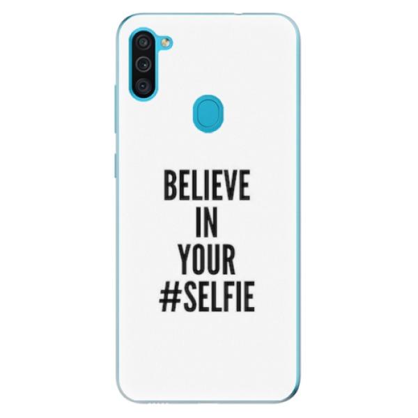 Odolné silikonové pouzdro iSaprio - Selfie - Samsung Galaxy M11