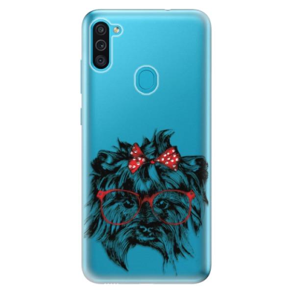 Odolné silikonové pouzdro iSaprio - Dog 03 - Samsung Galaxy M11