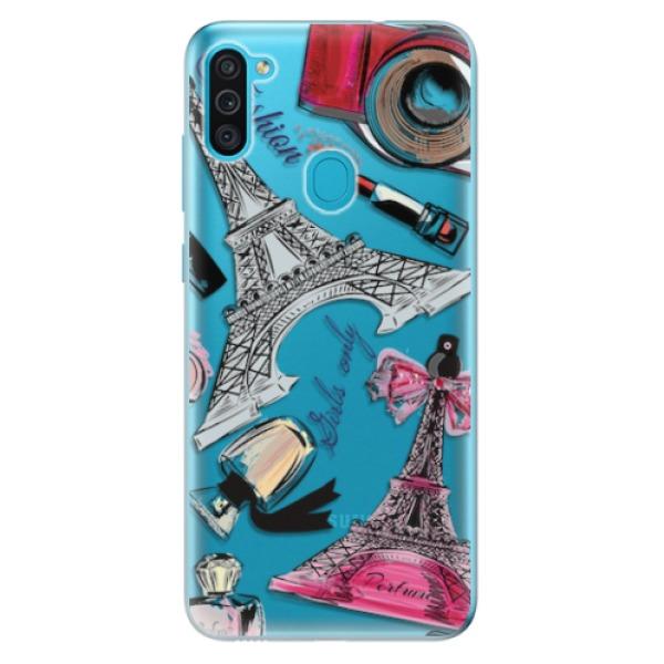 Odolné silikonové pouzdro iSaprio - Fashion pattern 02 - Samsung Galaxy M11