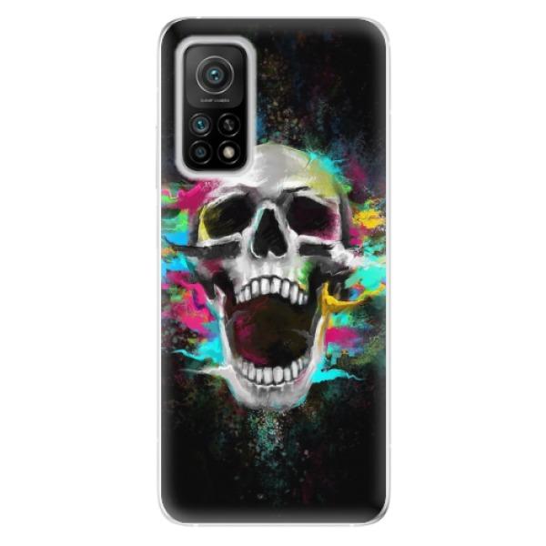 Odolné silikonové pouzdro iSaprio - Skull in Colors - Xiaomi Mi 10T / Mi 10T Pro