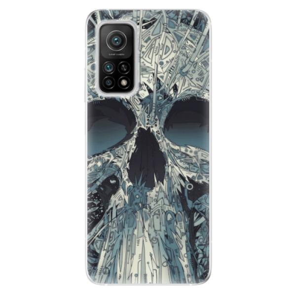 Odolné silikonové pouzdro iSaprio - Abstract Skull - Xiaomi Mi 10T / Mi 10T Pro