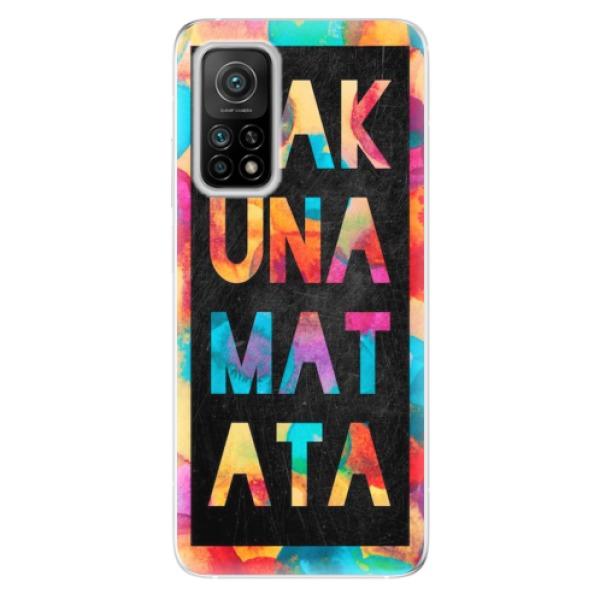 Odolné silikonové pouzdro iSaprio - Hakuna Matata 01 - Xiaomi Mi 10T / Mi 10T Pro