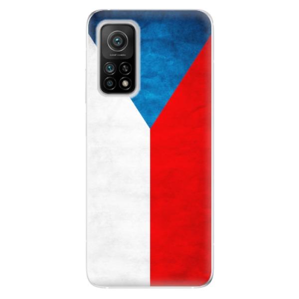 Odolné silikonové pouzdro iSaprio - Czech Flag - Xiaomi Mi 10T / Mi 10T Pro