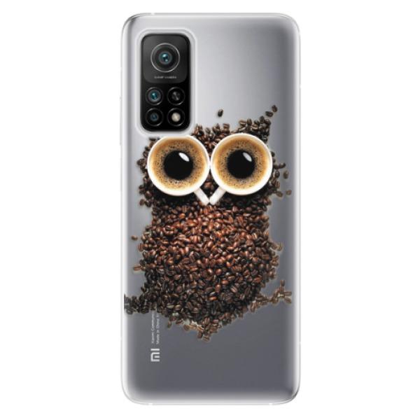 Odolné silikonové pouzdro iSaprio - Owl And Coffee - Xiaomi Mi 10T / Mi 10T Pro