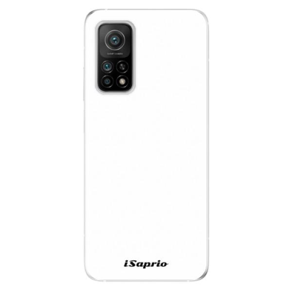 Odolné silikonové pouzdro iSaprio - 4Pure - bílý - Xiaomi Mi 10T / Mi 10T Pro