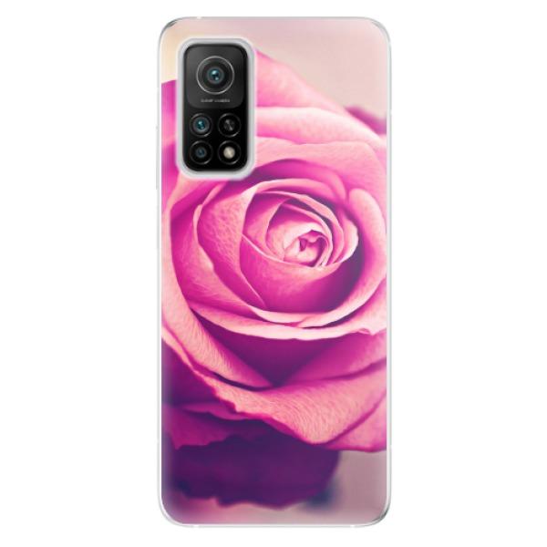 Odolné silikonové pouzdro iSaprio - Pink Rose - Xiaomi Mi 10T / Mi 10T Pro
