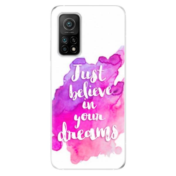 Odolné silikonové pouzdro iSaprio - Believe - Xiaomi Mi 10T / Mi 10T Pro