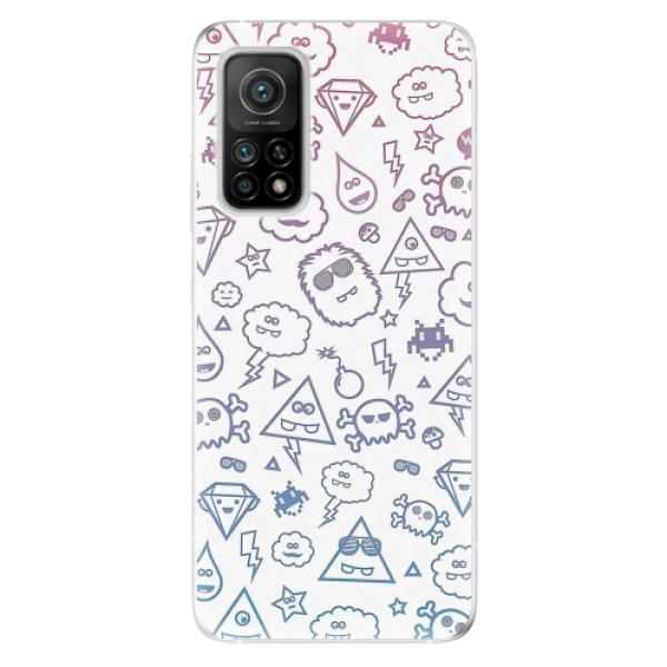 Odolné silikonové pouzdro iSaprio - Funny Clouds - Xiaomi Mi 10T / Mi 10T Pro