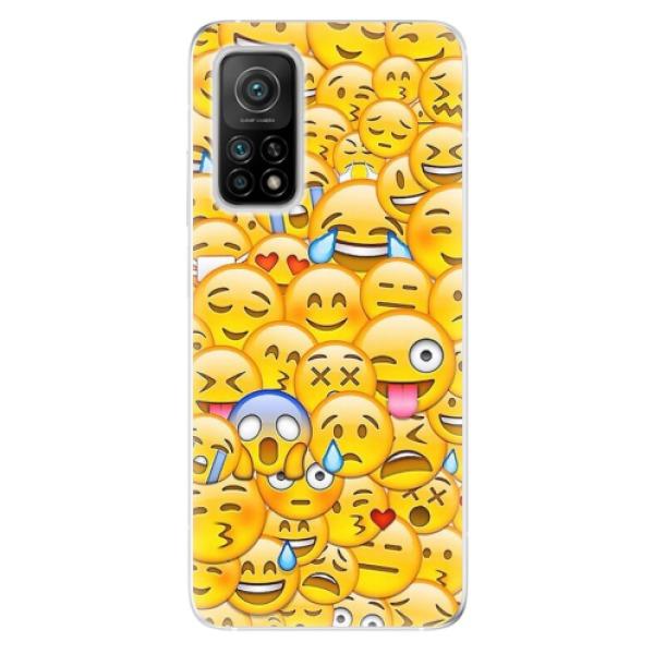 Odolné silikonové pouzdro iSaprio - Emoji - Xiaomi Mi 10T / Mi 10T Pro