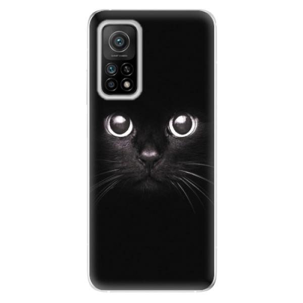 Odolné silikonové pouzdro iSaprio - Black Cat - Xiaomi Mi 10T / Mi 10T Pro