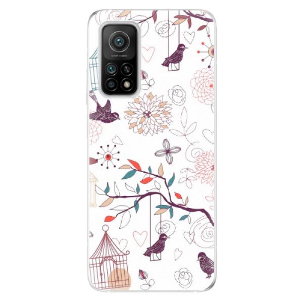 Odolné silikonové pouzdro iSaprio - Birds - Xiaomi Mi 10T / Mi 10T Pro