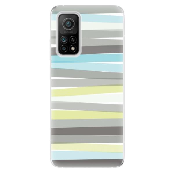 Odolné silikonové pouzdro iSaprio - Stripes - Xiaomi Mi 10T / Mi 10T Pro