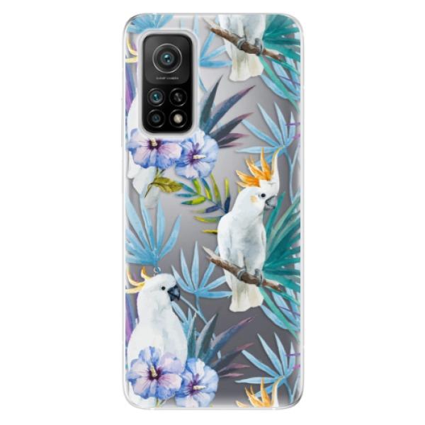 Odolné silikonové pouzdro iSaprio - Parrot Pattern 01 - Xiaomi Mi 10T / Mi 10T Pro