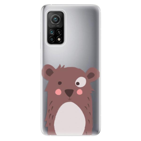 Odolné silikonové pouzdro iSaprio - Brown Bear - Xiaomi Mi 10T / Mi 10T Pro