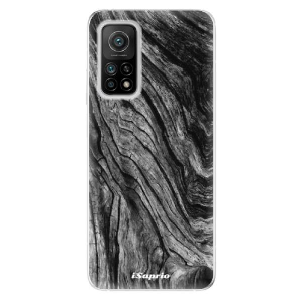 Odolné silikonové pouzdro iSaprio - Burned Wood - Xiaomi Mi 10T / Mi 10T Pro