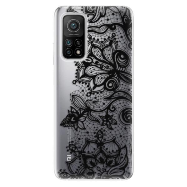 Odolné silikonové pouzdro iSaprio - Black Lace - Xiaomi Mi 10T / Mi 10T Pro