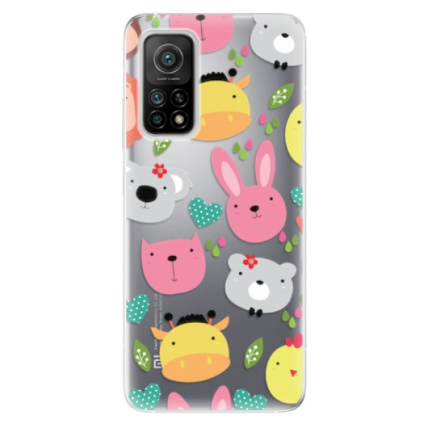 Odolné silikonové pouzdro iSaprio - Animals 01 - Xiaomi Mi 10T / Mi 10T Pro