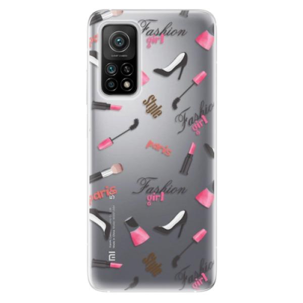 Odolné silikonové pouzdro iSaprio - Fashion pattern 01 - Xiaomi Mi 10T / Mi 10T Pro