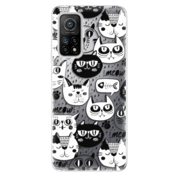 Odolné silikonové pouzdro iSaprio - Cat pattern 03 - Xiaomi Mi 10T / Mi 10T Pro