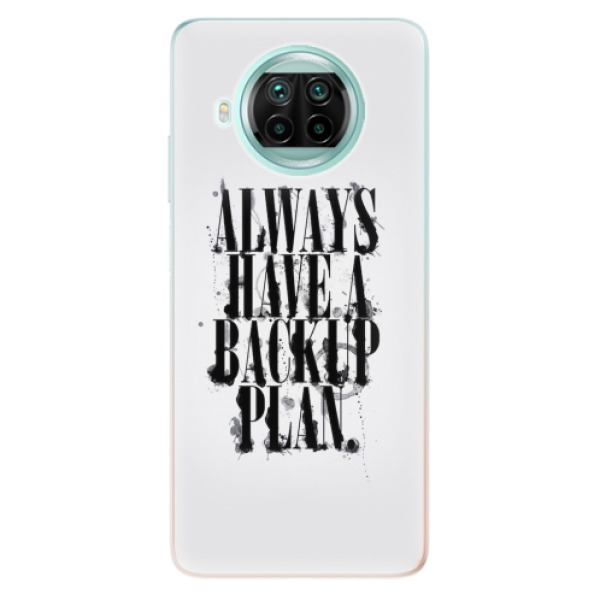 Odolné silikonové pouzdro iSaprio - Backup Plan - Xiaomi Mi 10T Lite