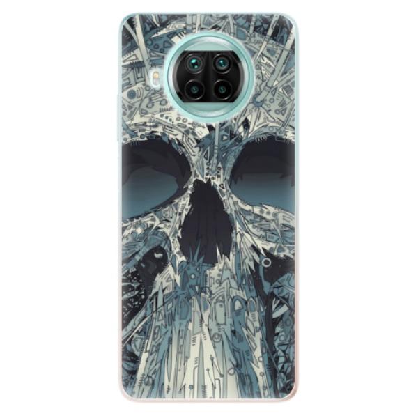 Odolné silikonové pouzdro iSaprio - Abstract Skull - Xiaomi Mi 10T Lite