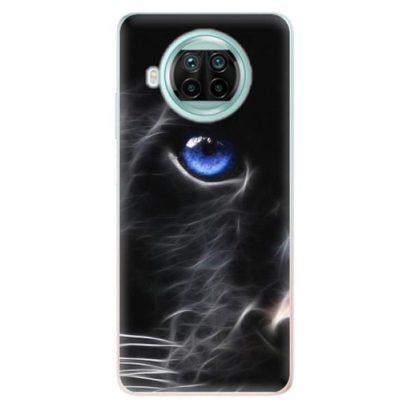 Odolné silikonové pouzdro iSaprio - Black Puma - Xiaomi Mi 10T Lite