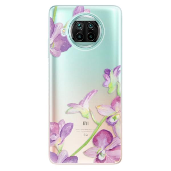 Odolné silikonové pouzdro iSaprio - Purple Orchid - Xiaomi Mi 10T Lite