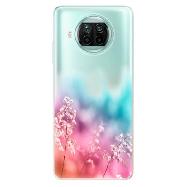 Odolné silikonové pouzdro iSaprio - Rainbow Grass - Xiaomi Mi 10T Lite
