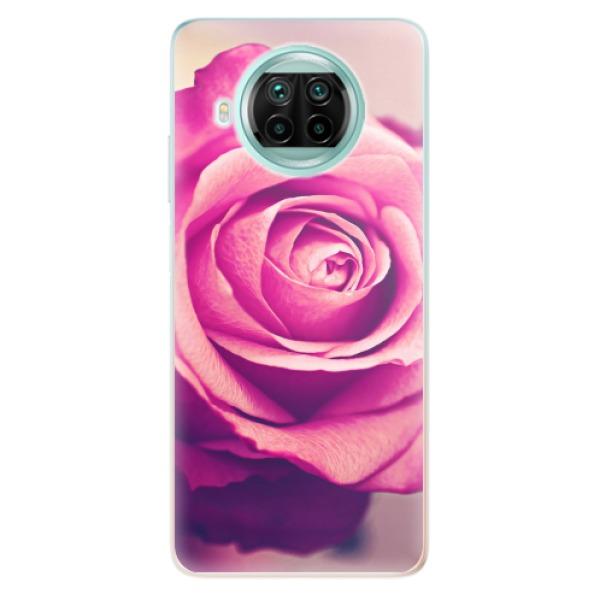 Odolné silikonové pouzdro iSaprio - Pink Rose - Xiaomi Mi 10T Lite