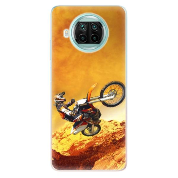 Odolné silikonové pouzdro iSaprio - Motocross - Xiaomi Mi 10T Lite