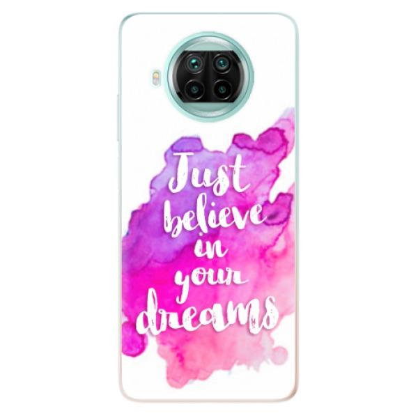 Odolné silikonové pouzdro iSaprio - Believe - Xiaomi Mi 10T Lite