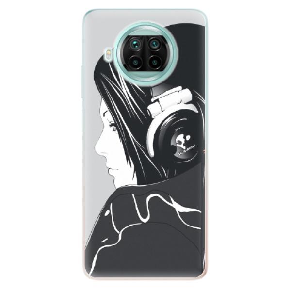 Odolné silikonové pouzdro iSaprio - Headphones - Xiaomi Mi 10T Lite