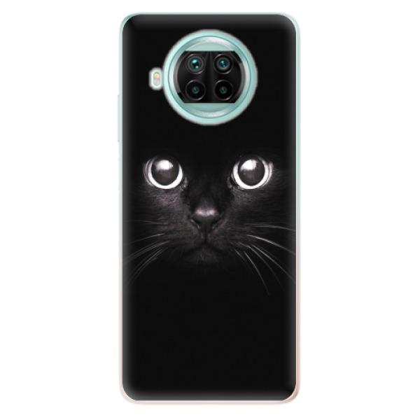 Odolné silikonové pouzdro iSaprio - Black Cat - Xiaomi Mi 10T Lite