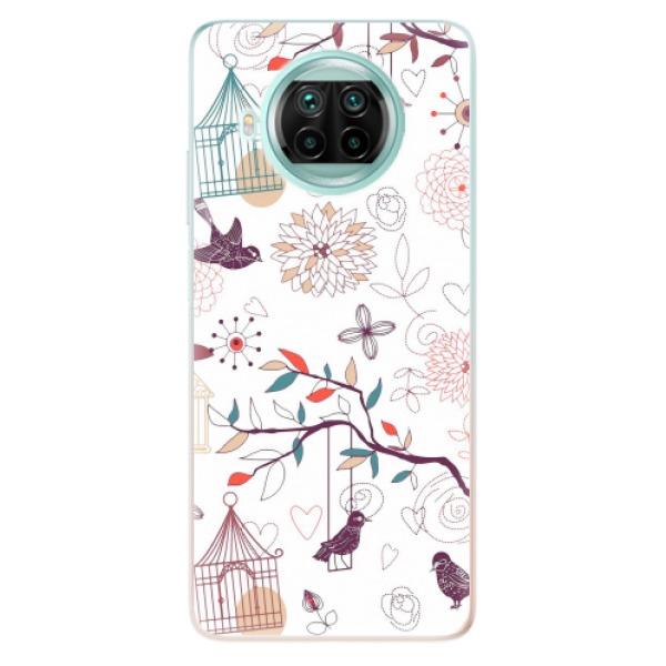 Odolné silikonové pouzdro iSaprio - Birds - Xiaomi Mi 10T Lite