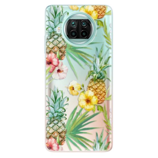 Odolné silikonové pouzdro iSaprio - Pineapple Pattern 02 - Xiaomi Mi 10T Lite
