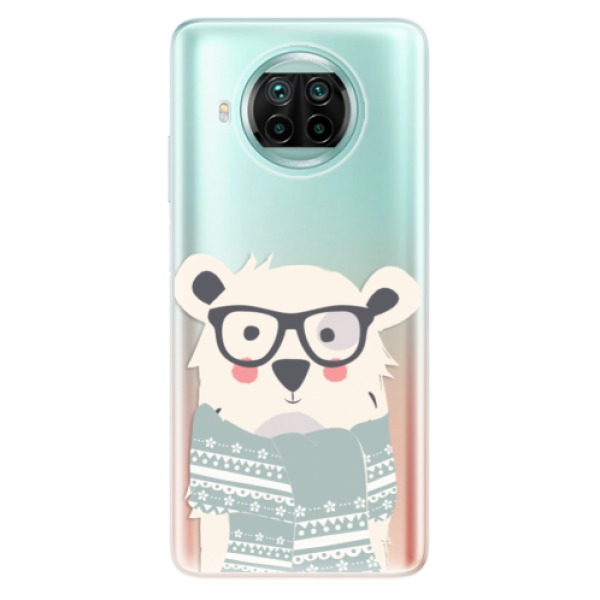 Odolné silikonové pouzdro iSaprio - Bear with Scarf - Xiaomi Mi 10T Lite