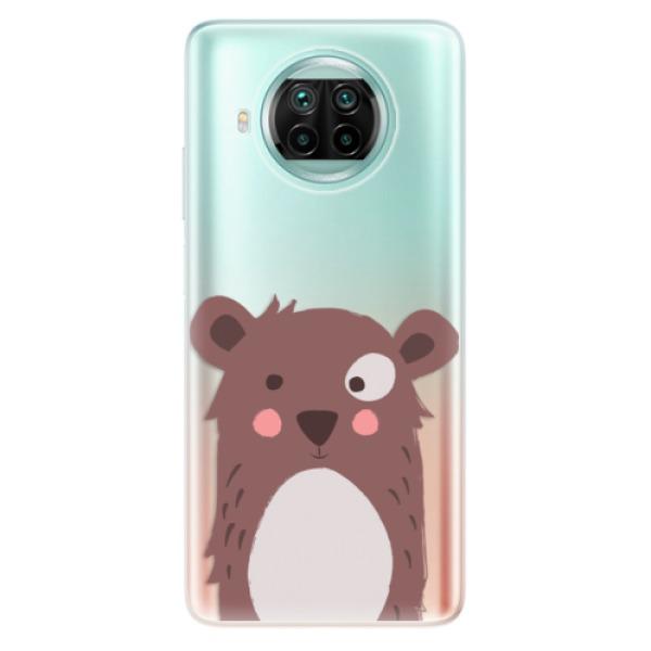 Odolné silikonové pouzdro iSaprio - Brown Bear - Xiaomi Mi 10T Lite