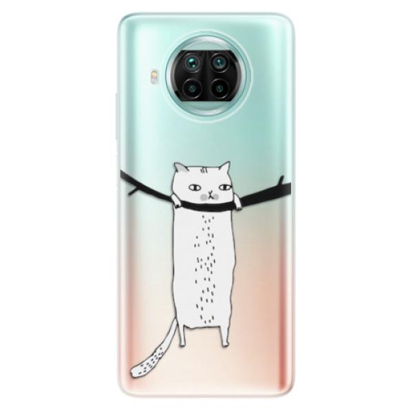 Odolné silikonové pouzdro iSaprio - Hang in there - Xiaomi Mi 10T Lite