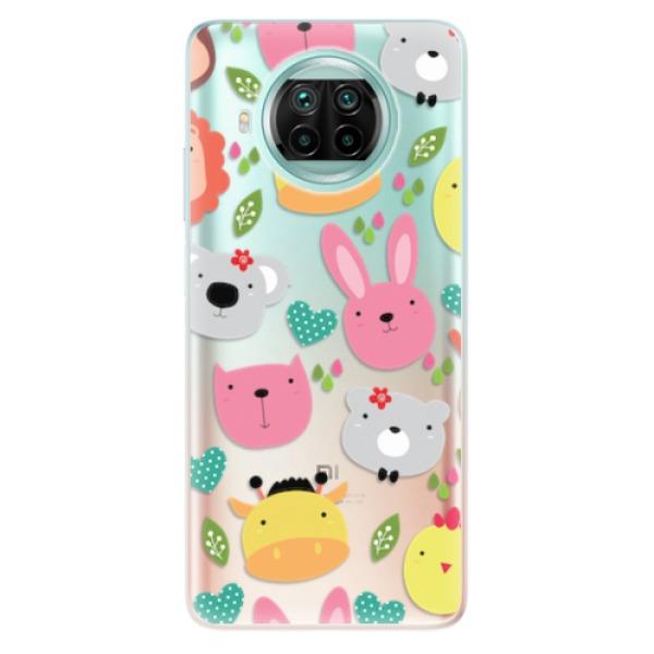 Odolné silikonové pouzdro iSaprio - Animals 01 - Xiaomi Mi 10T Lite