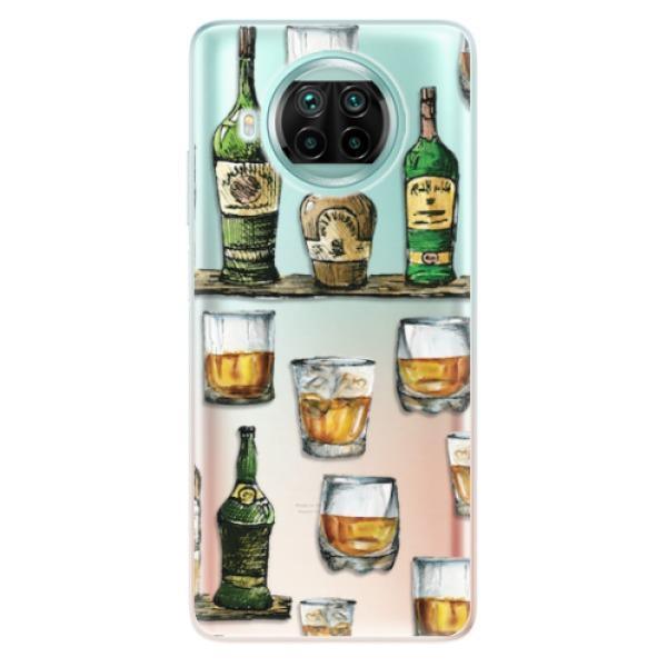 Odolné silikonové pouzdro iSaprio - Whisky pattern - Xiaomi Mi 10T Lite