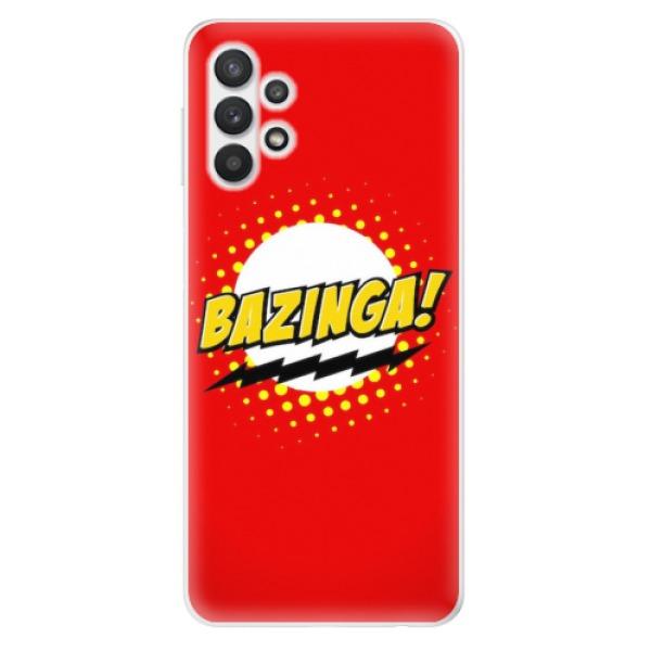 Odolné silikonové pouzdro iSaprio - Bazinga 01 - Samsung Galaxy A32 5G