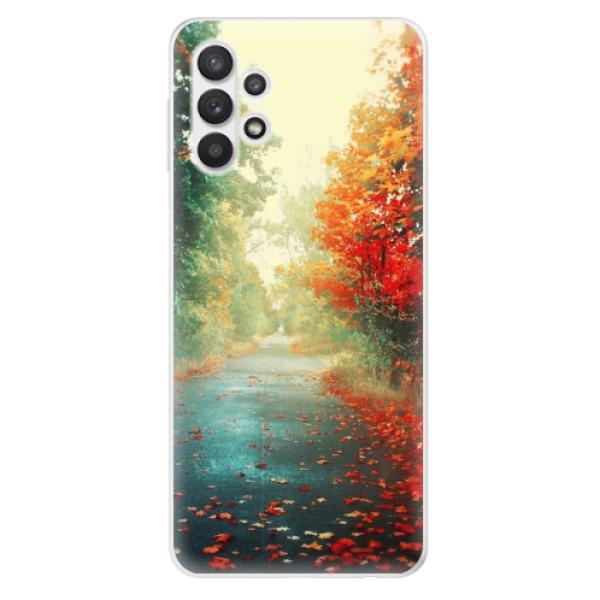 Odolné silikonové pouzdro iSaprio - Autumn 03 - Samsung Galaxy A32 5G