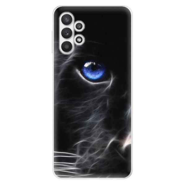Odolné silikonové pouzdro iSaprio - Black Puma - Samsung Galaxy A32 5G
