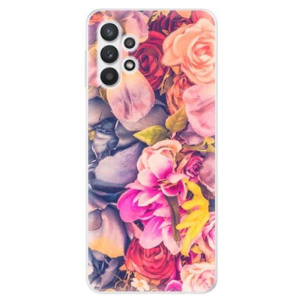 Odolné silikonové pouzdro iSaprio - Beauty Flowers - Samsung Galaxy A32 5G