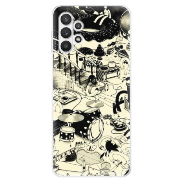 Odolné silikonové pouzdro iSaprio - Underground - Samsung Galaxy A32 5G