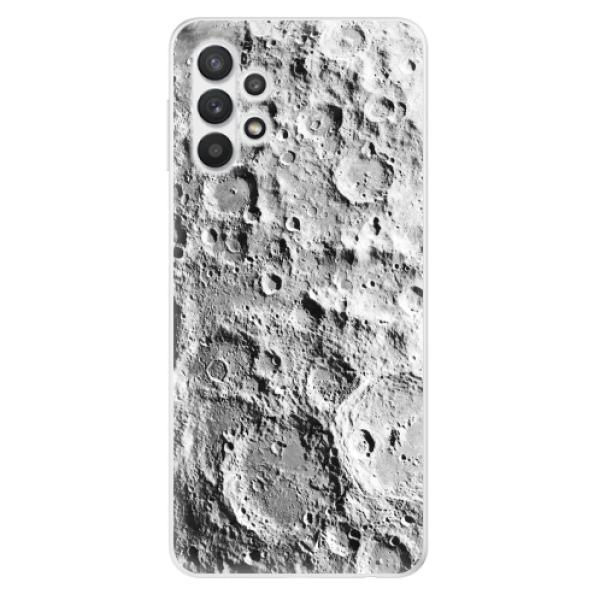 Odolné silikonové pouzdro iSaprio - Moon Surface - Samsung Galaxy A32 5G