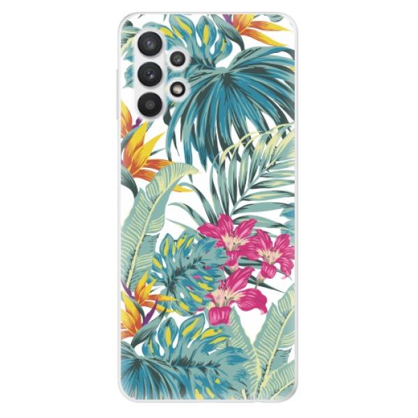 Odolné silikonové pouzdro iSaprio - Tropical White 03 - Samsung Galaxy A32 5G