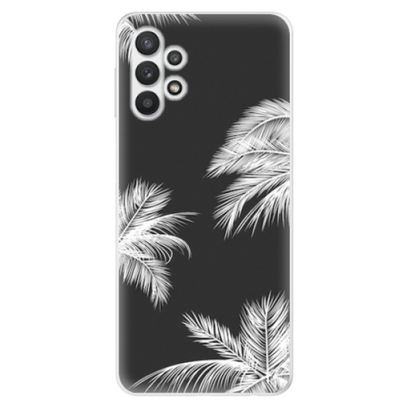 Odolné silikonové pouzdro iSaprio - White Palm - Samsung Galaxy A32 5G