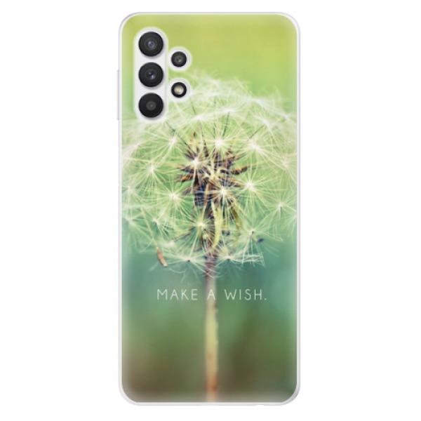 Odolné silikonové pouzdro iSaprio - Wish - Samsung Galaxy A32 5G
